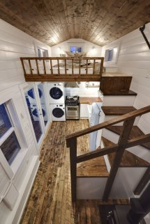 Tiny House Interior Loft