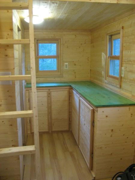 Our Kitchen under construction by Laura M. LaVoie