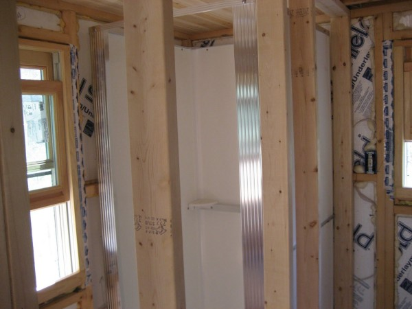 life in 120 square feet: our off grid bathroom