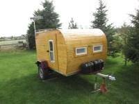 Wayne's Awesome $1000 DIY Wooden Teardrop Trailer