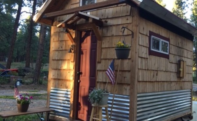 109 Sq Ft Off Grid Tiny House