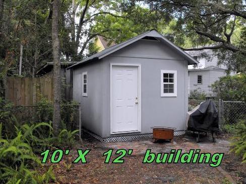 10x12 Panelized Tiny House Building