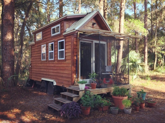 128 sq ft tiny sanctuary for sale in north florida for Small homes in florida