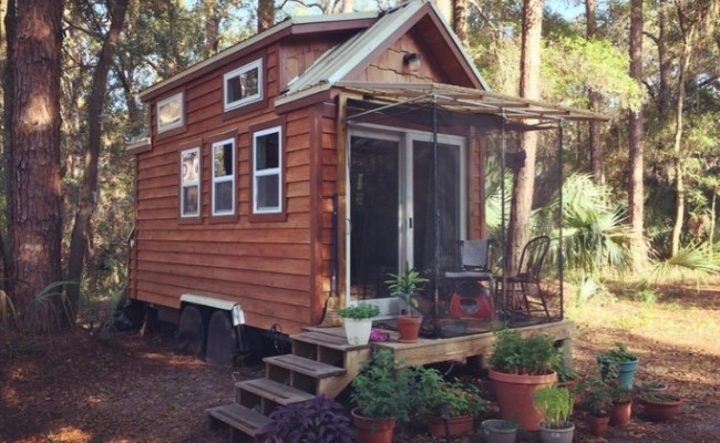 128 Sq Ft Tiny Sanctuary For Sale In North Florida