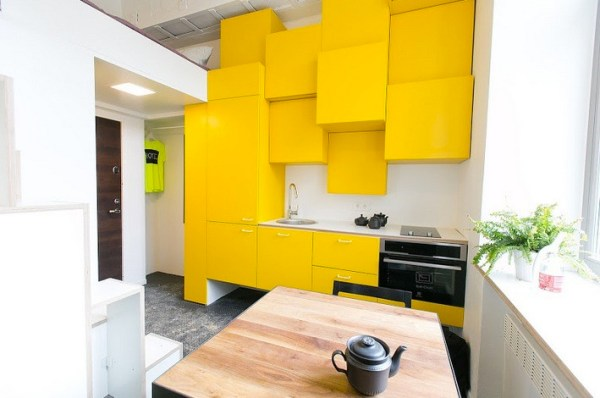 129 Sq. Ft. Micro Apartment in Lithuania