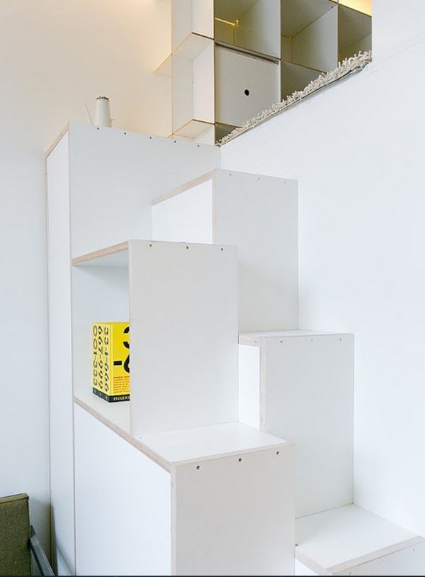 Staircase to the Sleeping Loft