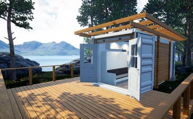 129 Sq Ft Shipping Container Tiny Home For Sale
