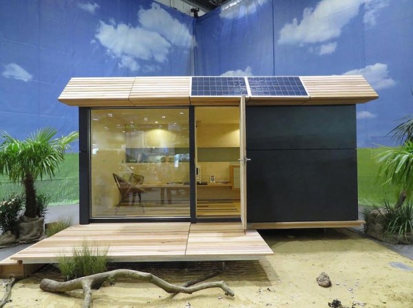 135 Sq Ft Off Grid Wave Cabin by Eco Living 008