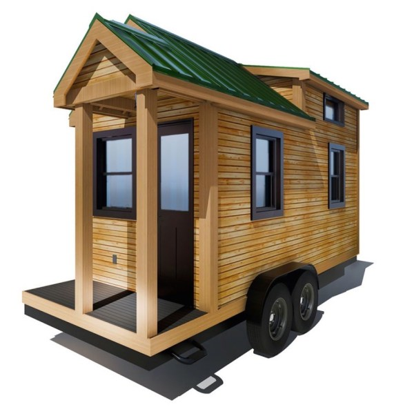 154 Sq Ft Roving Tiny House on Wheels by 84 Lumber Tiny Living 0010