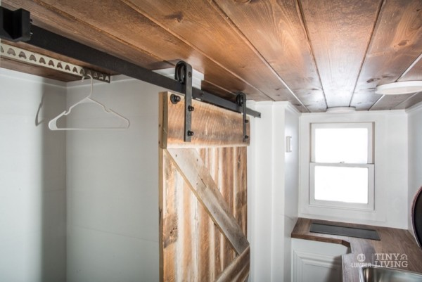 154 Sq Ft Roving Tiny House On Wheels By 84 Lumber