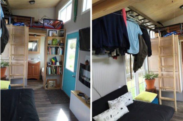 160 Sq Ft Tiny House on Wheels For Sale 002