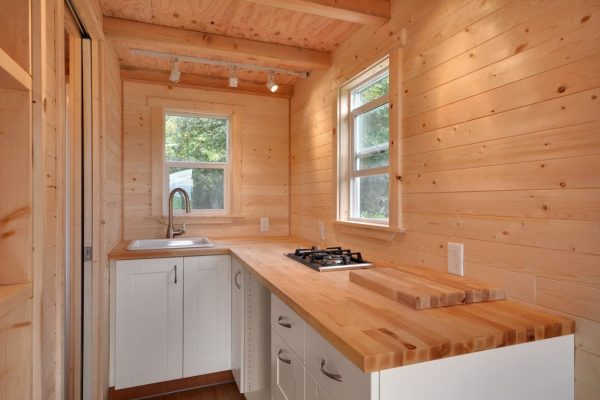 160 sq ft tiny house on wheels by tiny living homes for Rv square footage