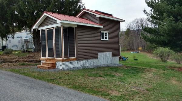 16ft Tiny Cabin in Berkeley Springs WV For Sale 001