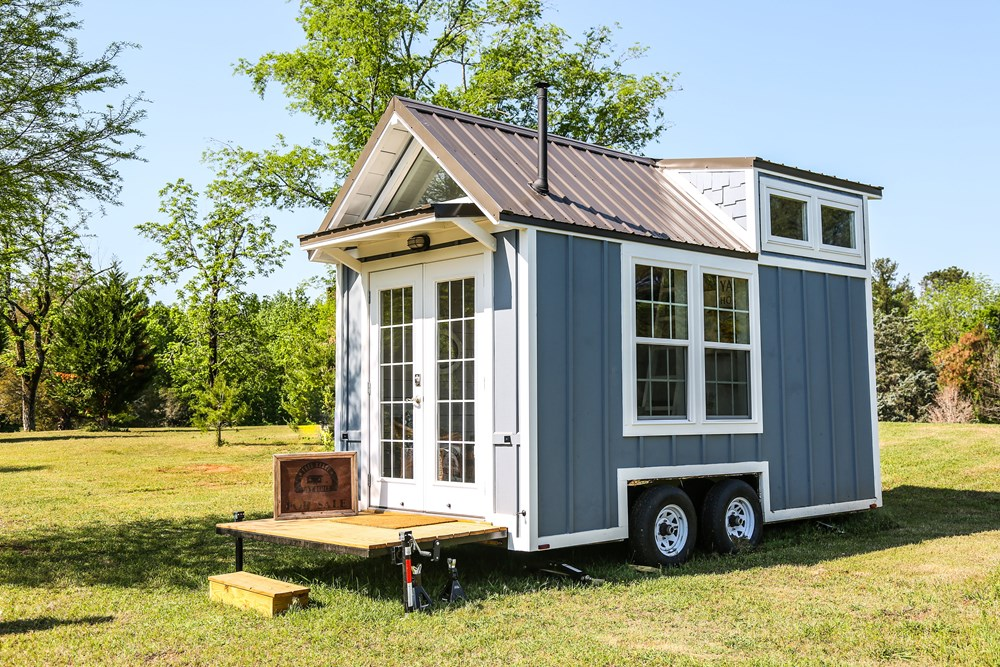 16ft tiny cottage on wheels by free range homes