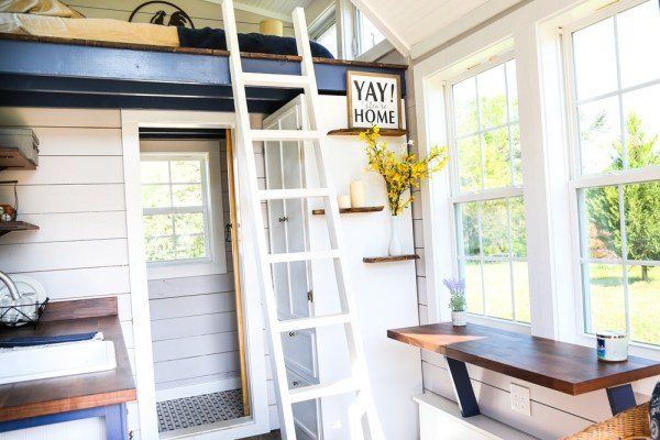 16ft Tiny Cottage on Wheels by Free Range Homes 005