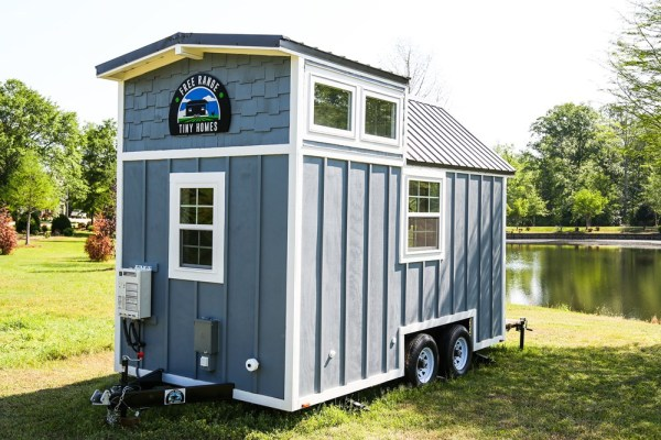 16ft Tiny Cottage on Wheels by Free Range Homes 008