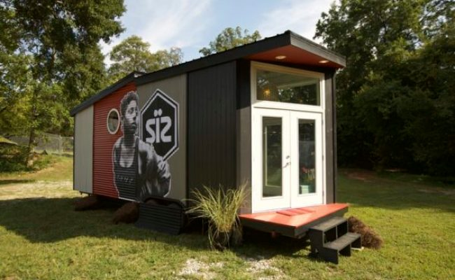 180 Sq Ft Pop Up Shop Tiny House In Atlanta Ga