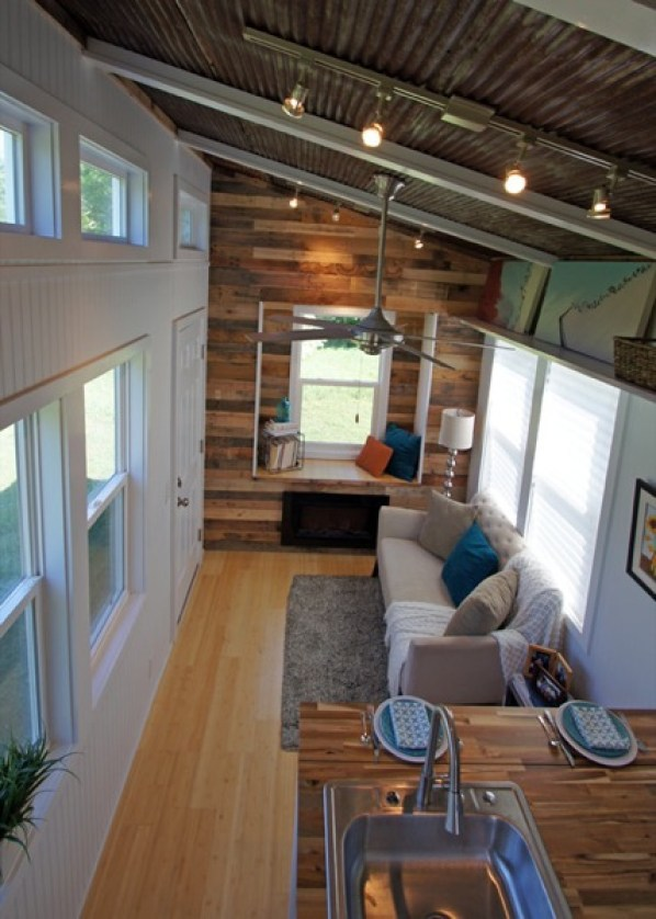 inside small house