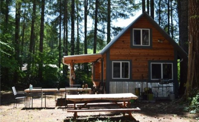 180 Sq Ft Tiny Cabin W Land For Sale In Hoodsport Wa