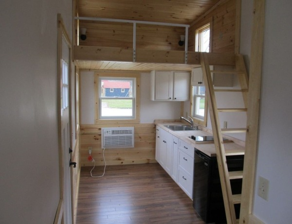 180 Sq Ft Tiny House For Sale with Extra 64 Sq Ft Loft