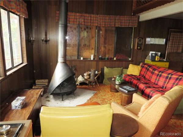 1960s Tiny Cabin on 2 Acres in Idaho Springs Colorado