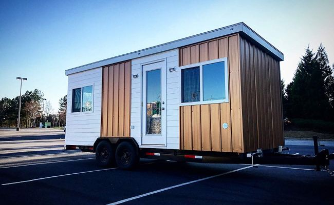 20 Foot Tiny House You Can Order On Amazon With Main Floor
