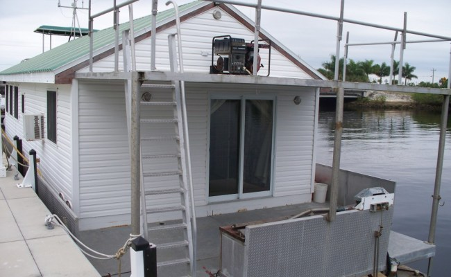Pontoon House Boat For Sale In Sw Florida Sold