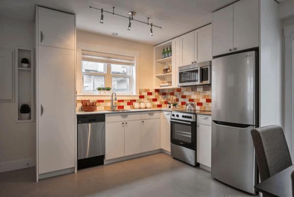 Small Kitchen Design Appliances