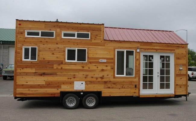 208 Sq Ft Tiny House On Wheels By Tiny Idahomes