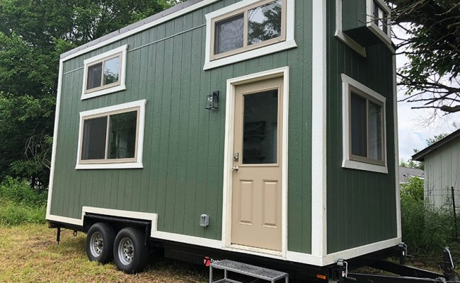 20ft Emerald Tiny House On Wheels For Sale