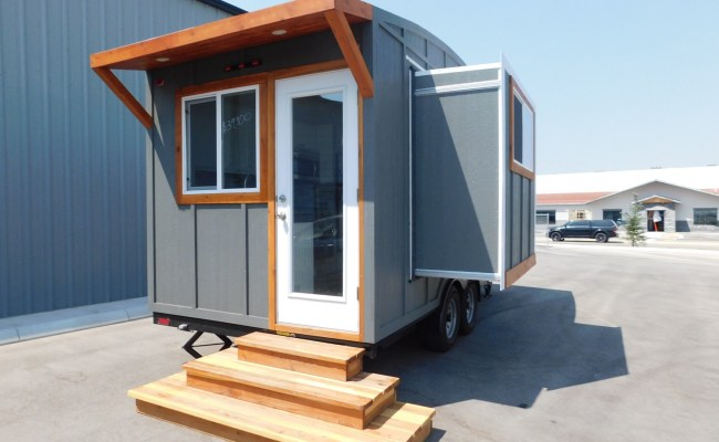 For Sale 20ft Ozark Tiny House With A Dinette Slide Out