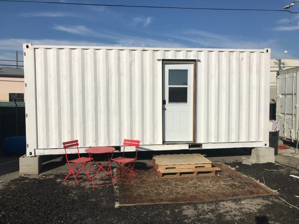 20ft shipping container tiny house for sale in oakland california for 19 500. Black Bedroom Furniture Sets. Home Design Ideas