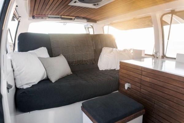 23-Year-Old Filmmakers Cargo Van Tiny House 0010