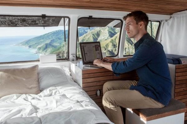 23-Year-Old Filmmakers Cargo Van Tiny House 0012
