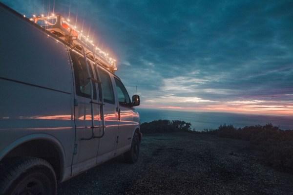 23-Year-Old Filmmakers Cargo Van Tiny House 0018