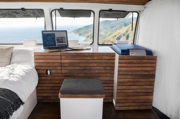23-Year-Old Filmmakers Cargo Van Tiny House 004