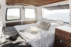 23-Year-Old Filmmakers Cargo Van Tiny House 006