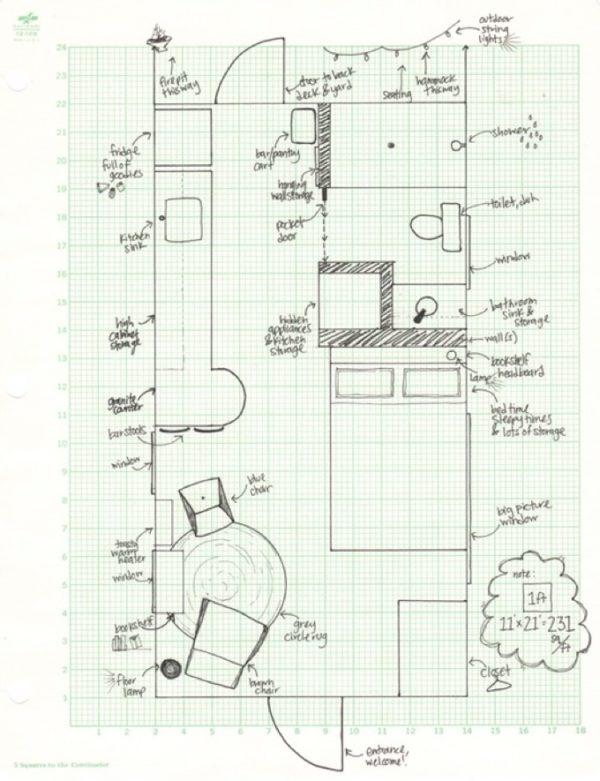 231 Sq. Ft. Tiny Cottage