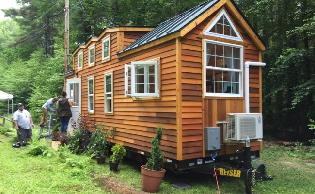 Tiny House Built For A 6 10 Basketball Player