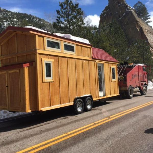24' Freedom Tiny House on Wheels by SimBLISSity 002