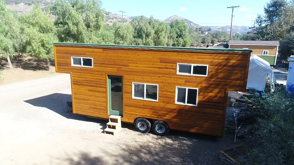 24ft modern caravan tiny house by tiny house cottages