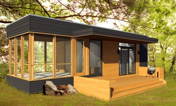 288 Sq. Ft. 24 Solo Modern Prefab Tiny Home