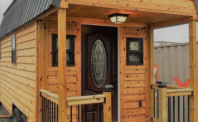 24ft Cedar Tiny Home In Raleigh