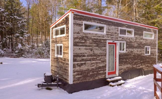 Young Man Builds 24k Diy Tiny House Winter Living