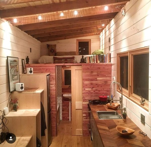 250 Sq Ft DIY Tiny House on Wheels