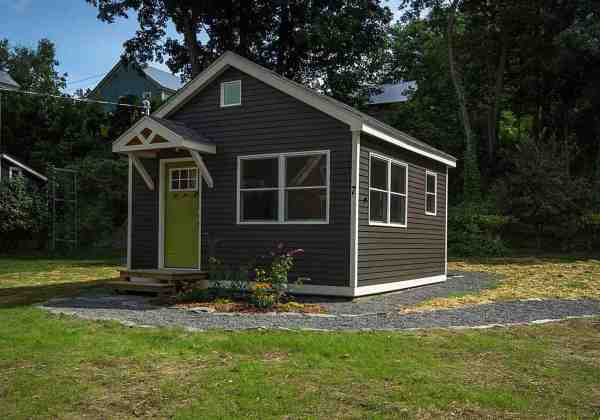 256 Sq Ft Little Sprout Tiny House in Rockingham VT