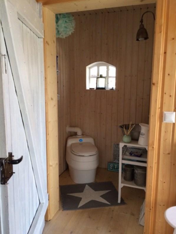 bathroom inside cottage