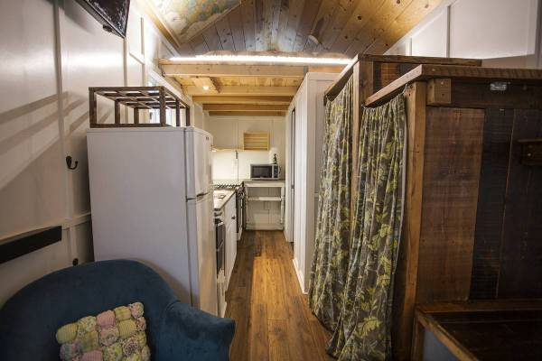 26 Ft Blue Tiny House Rv For Sale St Louis