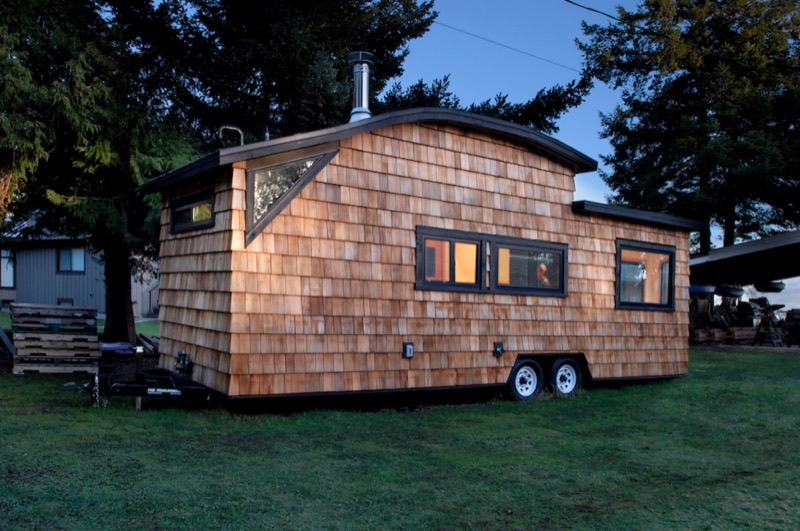 260 sq  ft  curved roof tiny home by structural spaces