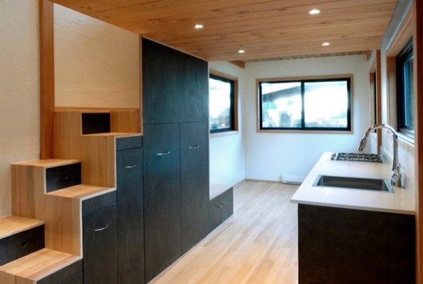260 Sq Ft Curved Roof Tiny Home by Structural Spaces 003